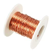 eDealMax 0.41 mm径マグネットワイヤエナメル銅線巻線コイル49.2 '長さ広くトランス用インダクタ