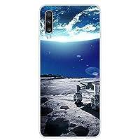カバーサムスンA70ケースA705FシリコンスペースソフトTpu電話ケース(フンダ用)サムスンギャラクシーA70ケース2019 A 70 A705スターCapa18For Galaxy A70