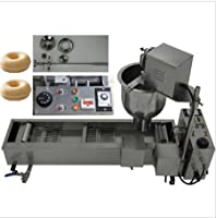 110V/220V NP-2 Stainless Steel Automatic Donut Machine Donut Frying Machine 500-800PCS/hours CE Certification