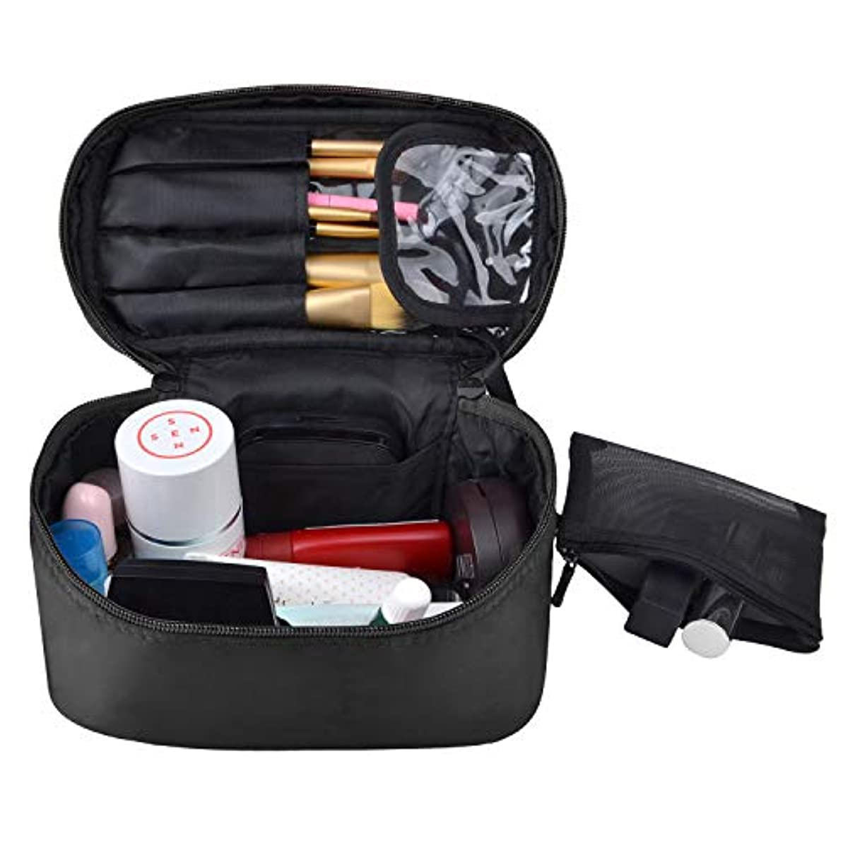代表する関係ない袋NOTAG 化粧ポーチ レディース 旅行ポーチ 収納 大容量 防水 小物入れ 旅行