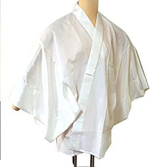 襦袢 男性用半衿付半襦袢 3サイズ3色 /L(3412) 白