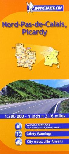 Download Michelin Nord-Pas-De-Calais, Picardie, France (Michelin Maps) 2067135198