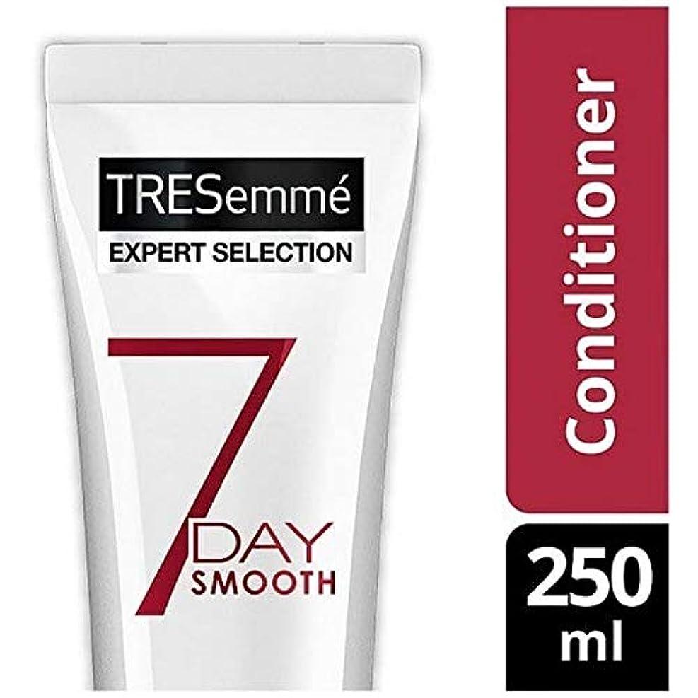 怒っているルーフカロリー[Tresemme] Tresemmeの専門家7日スムーズコンディショナー250Ml - Tresemme Specialist 7 Day Smooth Conditioner 250ml [並行輸入品]
