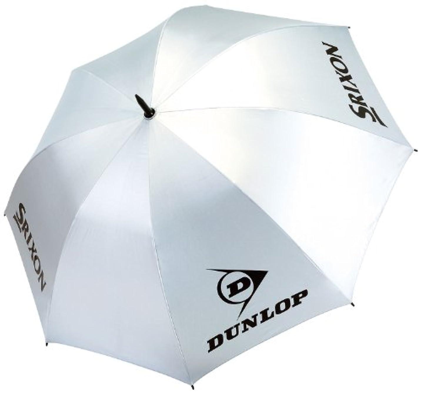 パイロット銃句読点DUNLOP(ダンロップ) 傘 日傘 UVカット加工 晴雨兼用 パラソル シルバー 75cm 849 TAC-808