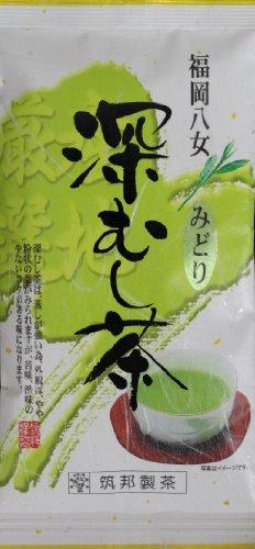 筑邦製茶 福岡八女 深むし茶 緑 90g