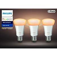 Philips Hue (ヒュー) ホワイトグラデーション 3個セット【Amazon Echo、Google Home、Apple HomeKit、LINE対応】