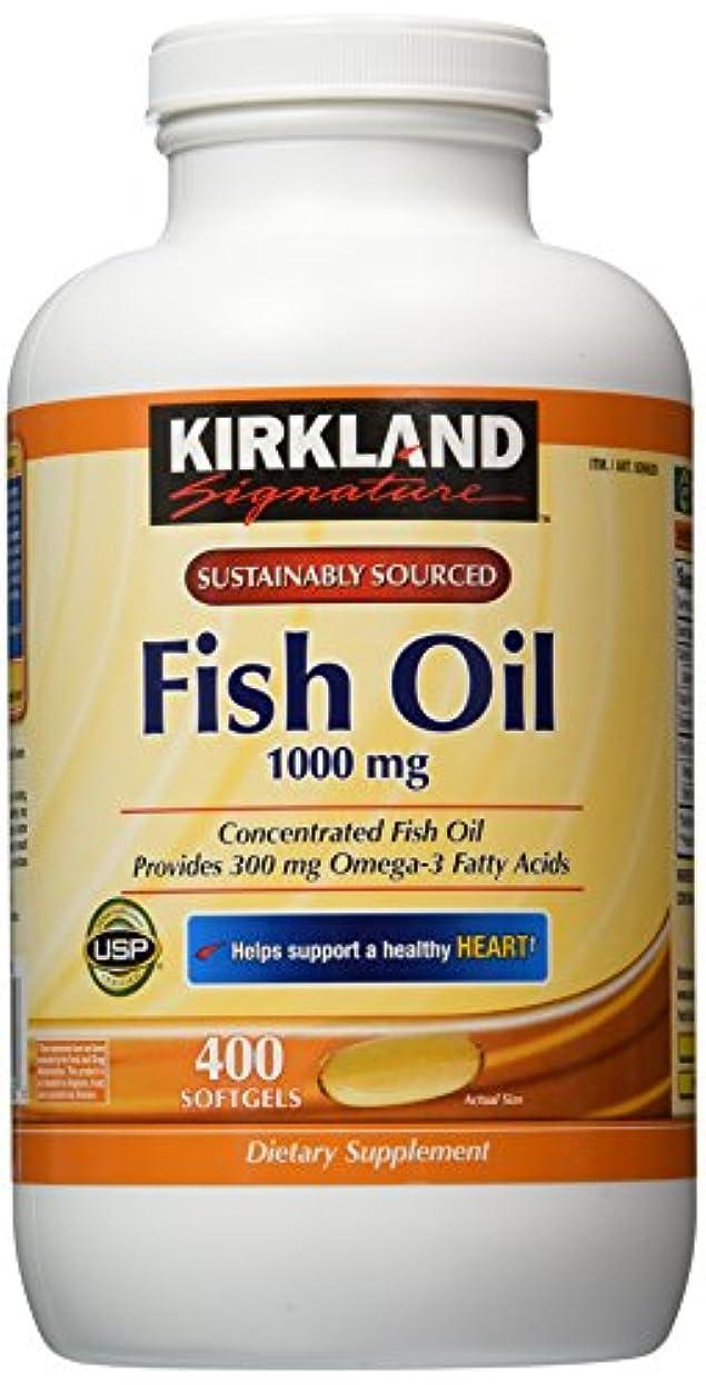 値するエイズ呼ぶKirkland Signature Omega-3 Fish Oil Concentrate, 800 Softgels, 1000 mg Fish Oil with 30% Omega-3s (300 mg) by...