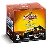 caffe carraro (コーヒーカラーロ) ドルチェグスト用カプセル シングルオリジン ケニア コーヒーカラーロ 単品1箱 16カプセル入り