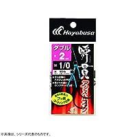 ハヤブサ(Hayabusa) FS456 瞬貫アシストフック ダブル 2cm 5/0 FS456