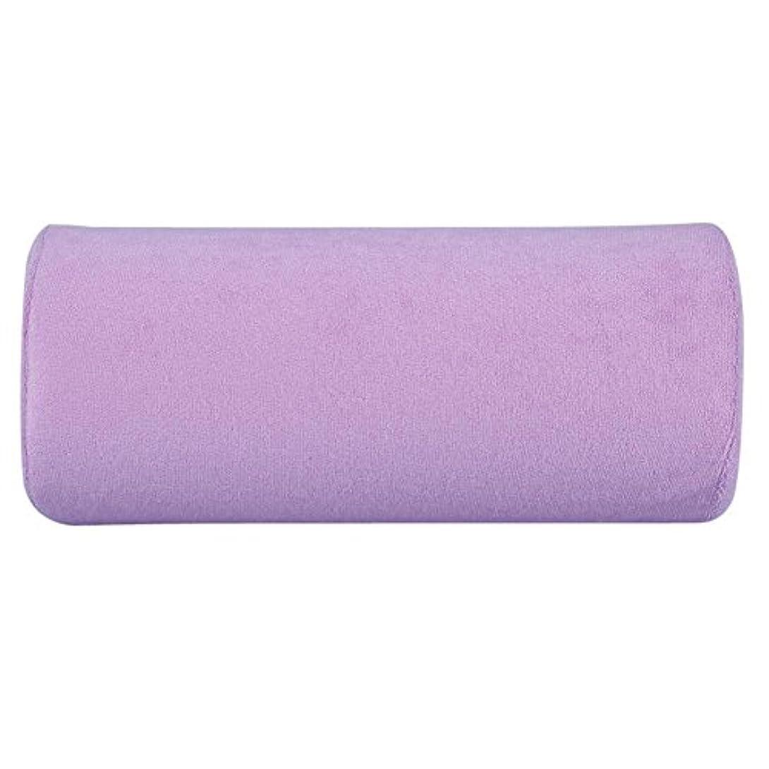 チキン銛協力する腕置き Okuguy ハンド枕 手の枕 腕マクラ ハンドピロー 柔らかい 美容院 美容室 サロン (紫)