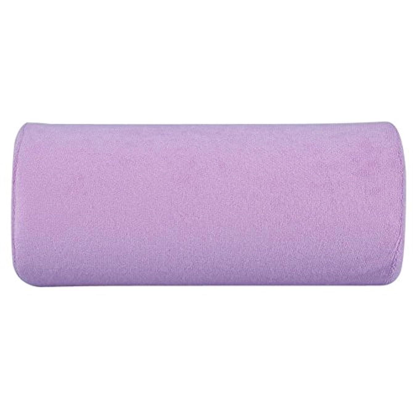 行進契約するユダヤ人腕置き Okuguy ハンド枕 手の枕 腕マクラ ハンドピロー 柔らかい 美容院 美容室 サロン (紫)
