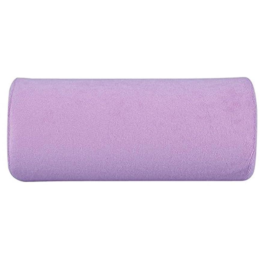 速度拷問サークル腕置き Okuguy ハンド枕 手の枕 腕マクラ ハンドピロー 柔らかい 美容院 美容室 サロン (紫)