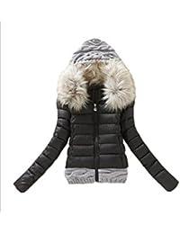 フード付きショートジャケットコート冬のよいトップyacun女性のにせの毛皮