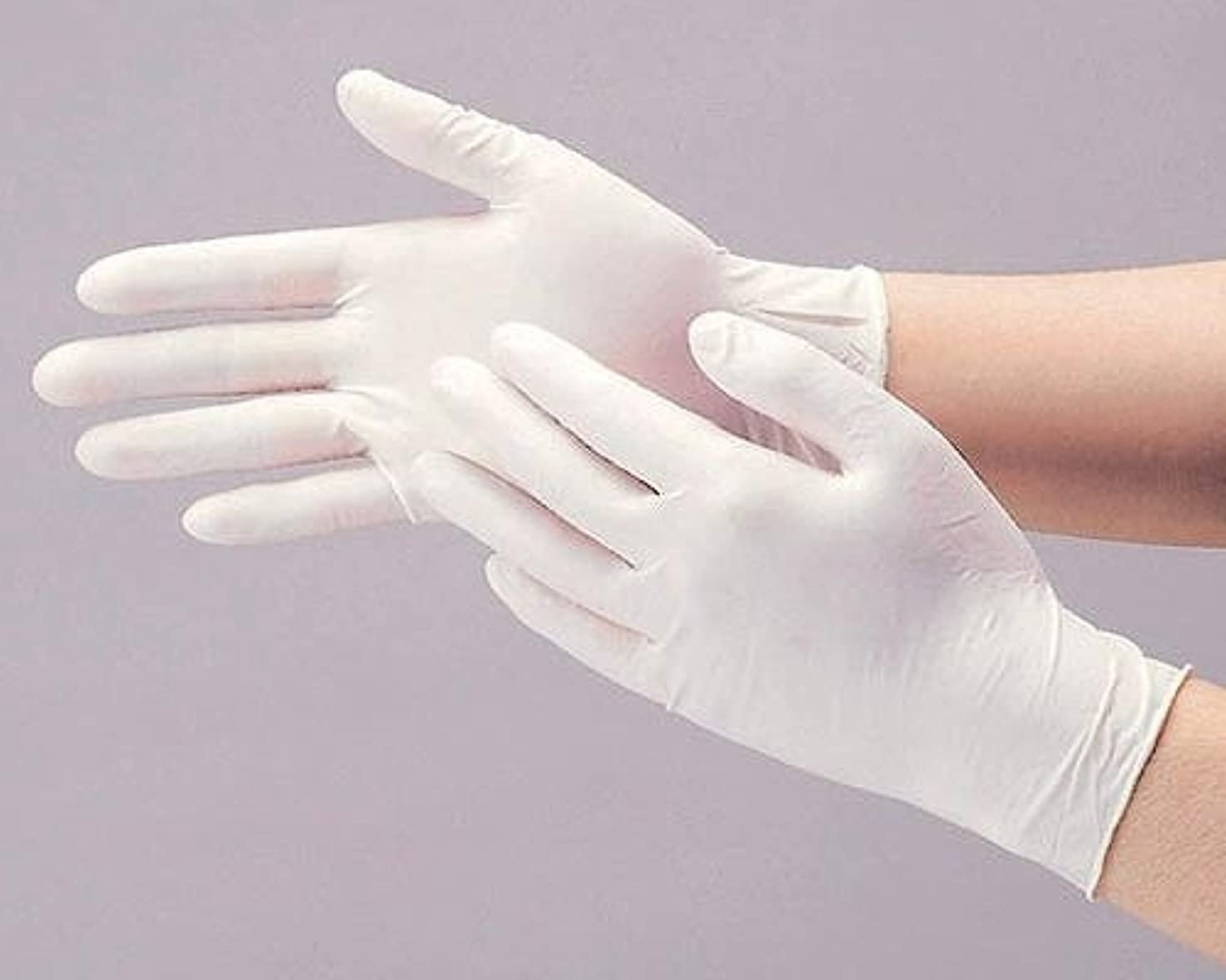 リンケージずんぐりした上昇ダンロップ N-211 天然ゴム極うす手袋100枚入 Lナチュラル N211LN