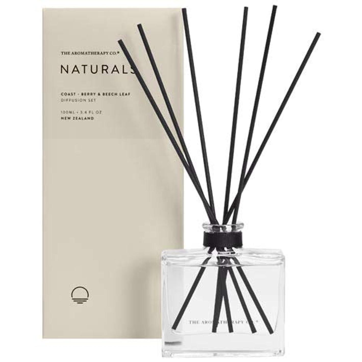 瞬時に気づかない縁石アロマセラピーカンパニー(Aromatherapy Company) new NATURALS ナチュラルズ Diffusion Stick ディフュージョンスティック Coast コースト(海岸) Berry & Beech...
