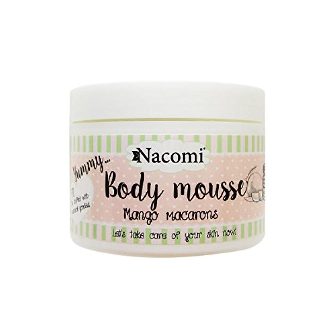 びっくりした落ち着いて壮大Nacomi Body Mousse Mango Macarons 180ml [並行輸入品]