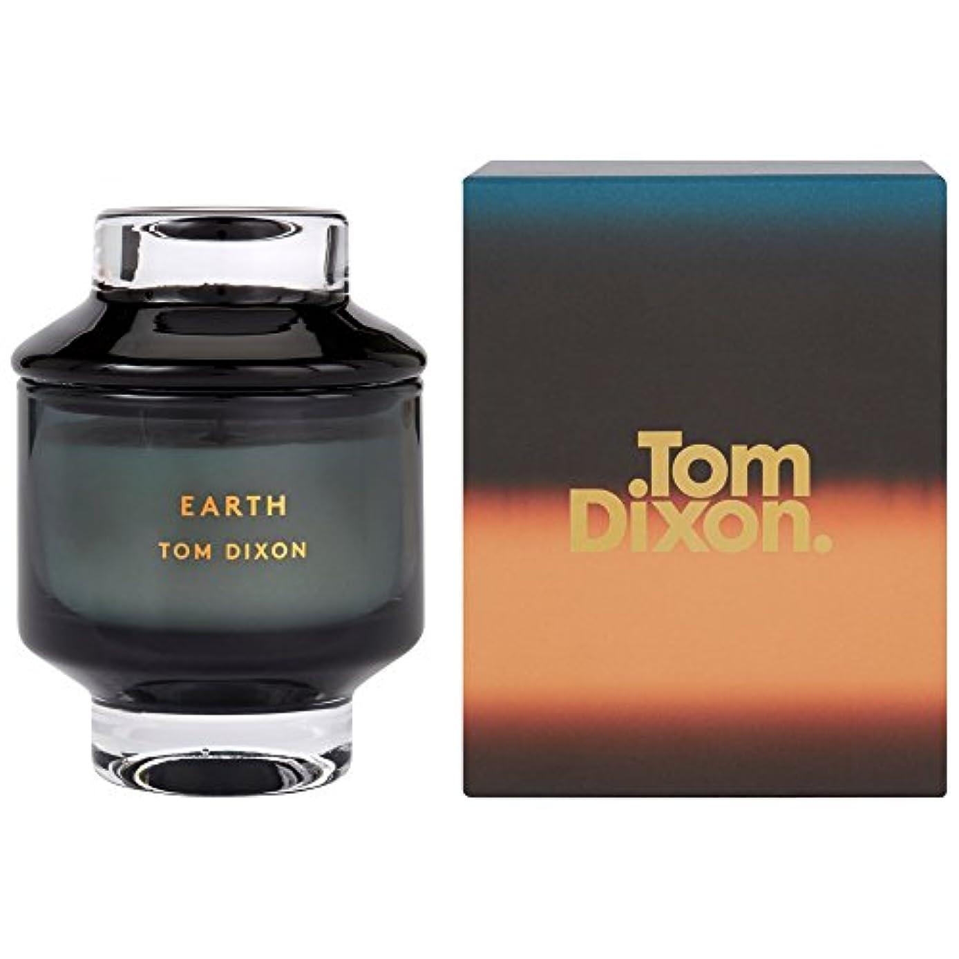 お祝い中級不調和トム?ディクソン大地の香りのキャンドル媒体 x6 - Tom Dixon Earth Scented Candle Medium (Pack of 6) [並行輸入品]