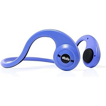 allimity 骨伝導スポーツイヤホン 耳フリー Bluetooth4.1ヘッドセット 高音質 後掛け式 ワイヤレス HIFIステレオイヤホン 防汗・防滴 ハンズフリー機能