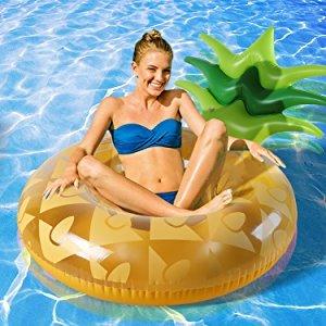 [해외]파인애플 대형 튜브 파인애플 플로트 비치 보드 - Happytime 수영 강사 우기원 물놀이 맹활약 풀 바다 · 강 해변 비치 용품 수영 용품 선물 장난감/Pineapple Large Float Rings Pineapple Float Beach Board - Happytime Swim Trainer Ukiwa Large...