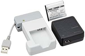 OLYMPUS リチウムイオン充電池 LI-50Bと専用充電器 UC-50のセット デジタルカメラ用 LI-50B+UC-50 SET