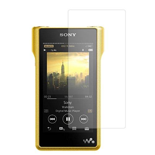 Sony WM1シリーズ(NW-WM1Z/NW-WM1A 対応) 4インチ用【高硬度9H】液晶保護フィルム 傷に強い!強化ガラス同等の高硬度9Hフィルム