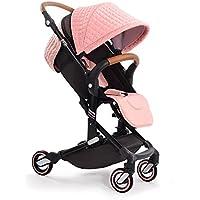 babysing I-GO ベビーカー a型 b型 76cm ハイシート 軽量 コンパクト押しやすい 取り付ける簡単 ベビーカー 0-3歳 女の子 15キロ (ピンク)
