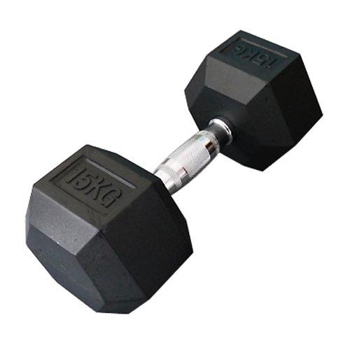 [WILD FIT ワイルドフィット]固定式六角ダンベル15kg