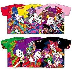 ももいろクローバーZ 公式グッズ 桃神祭Tシャツ Lサイズ ...