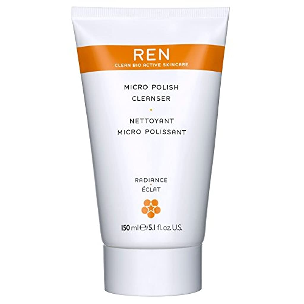 エスニック乱気流華氏Renミルコ磨きクレンザー、150ミリリットル (REN) - REN Mirco Polish Cleanser, 150ml [並行輸入品]