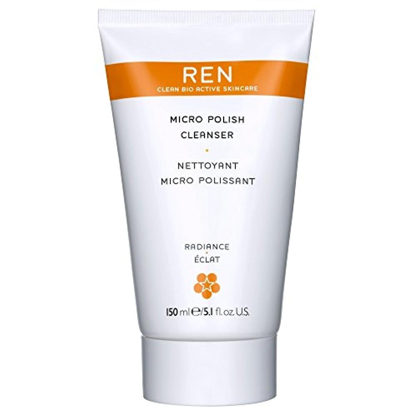 強い傘部分的にRenミルコ磨きクレンザー、150ミリリットル (REN) (x6) - REN Mirco Polish Cleanser, 150ml (Pack of 6) [並行輸入品]
