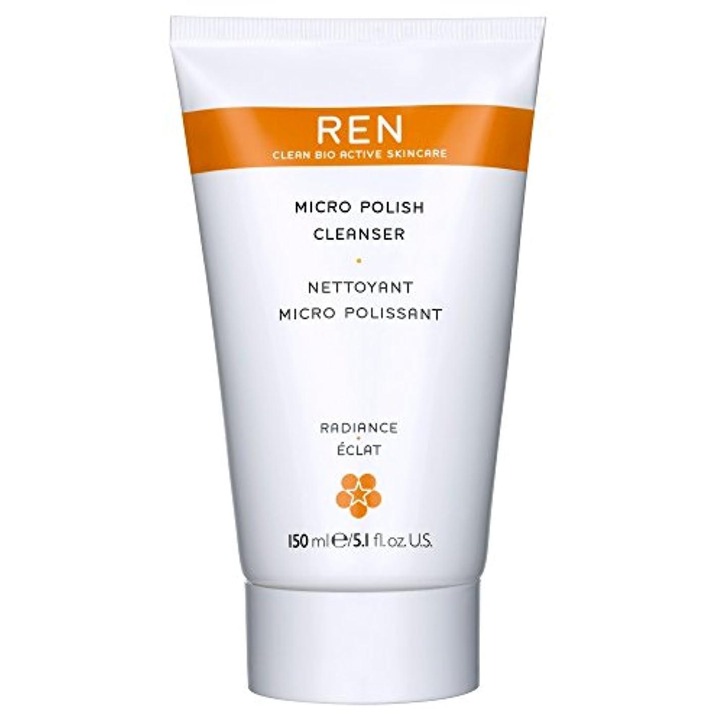 パンチ予感行方不明Renミルコ磨きクレンザー、150ミリリットル (REN) (x6) - REN Mirco Polish Cleanser, 150ml (Pack of 6) [並行輸入品]