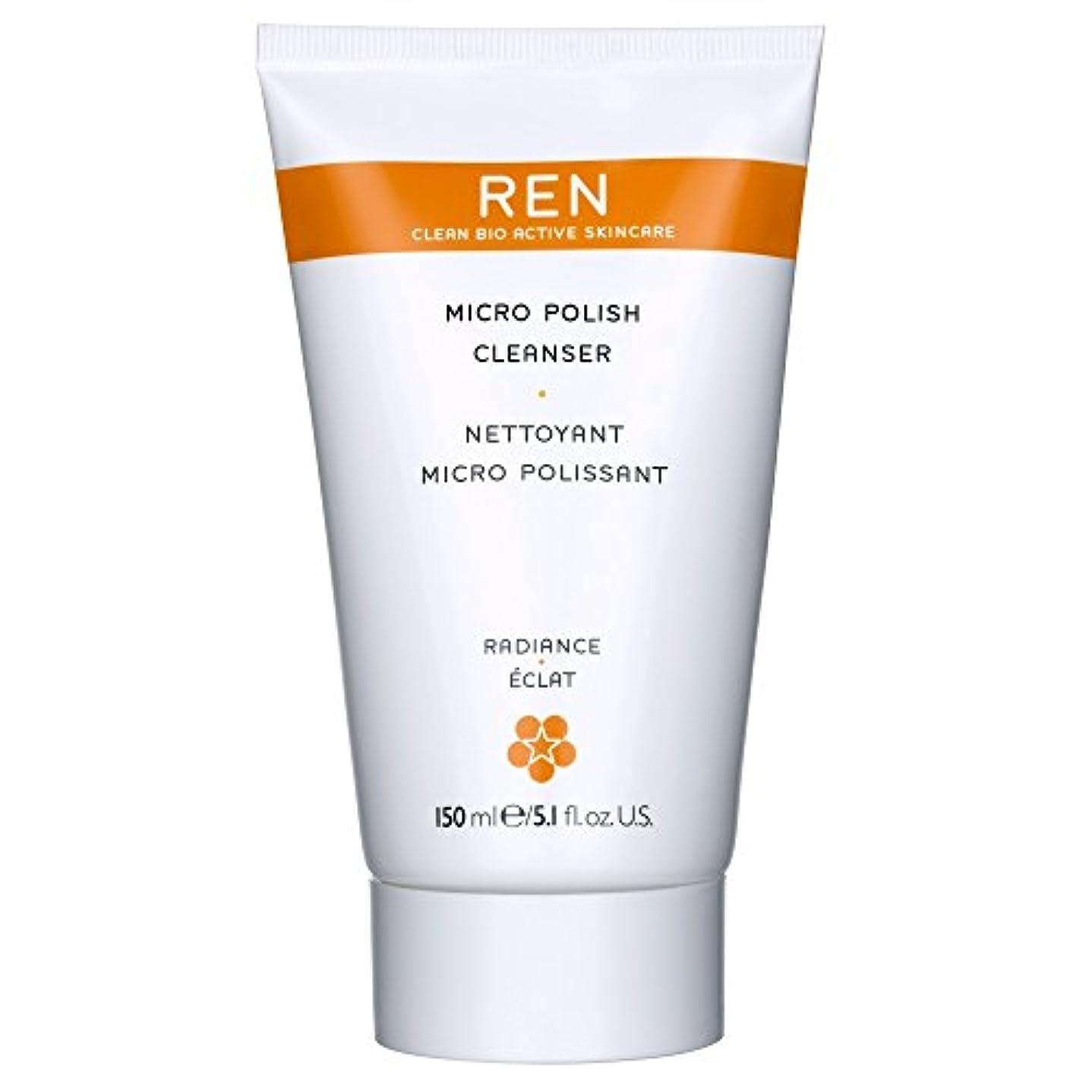 忌まわしい合図洞察力Renミルコ磨きクレンザー、150ミリリットル (REN) (x2) - REN Mirco Polish Cleanser, 150ml (Pack of 2) [並行輸入品]