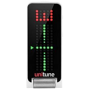 【精度+/- 0.02セントのストロボモード搭載】tc electronic クリップ式チューナー【ベースもしっかり反応/クロマチックモード搭載】UNITUNE CLIP