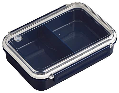 OSK 弁当箱 まるごと 冷凍弁当 ネイビー 800ml タイトボックス レシピ付 (日本製) PCL-5SR