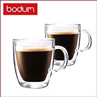[ボダム] bodum BISTRO(ビストロ) ダブルウォールマグ 300ml (2個セット) 10604-10 [並行輸入品]