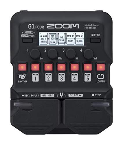 ZOOM マルチエフェクター マルチエフェクツプロセッサー G1 FOUR B07N2RQ4VY 1枚目