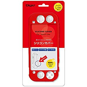 Nintendo Switch Lite 用 シリコンカバー レッド Z2662