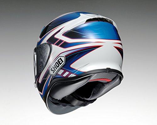 ショウエイ(SHOEI) バイクヘルメット フルフェイス Z-7 VALKYRIE (ヴァルキリー) TC-2 BLUE/WHITE XL (61cm) -