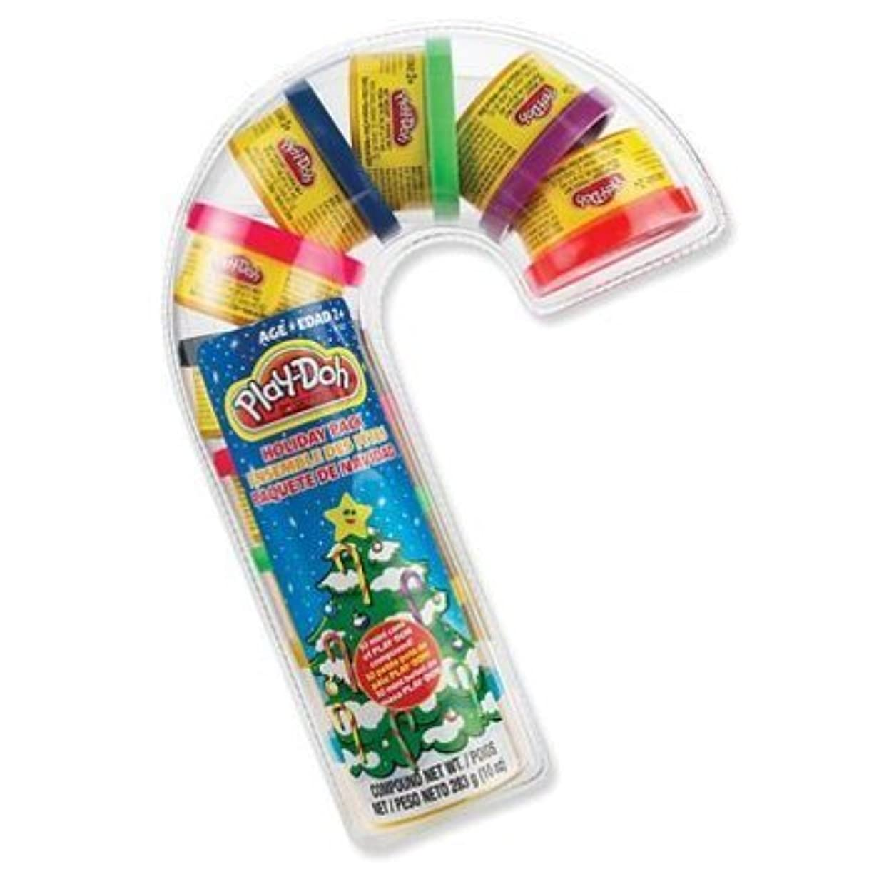 play-doh Holiday Pack Candy Cane with 10ミニ缶