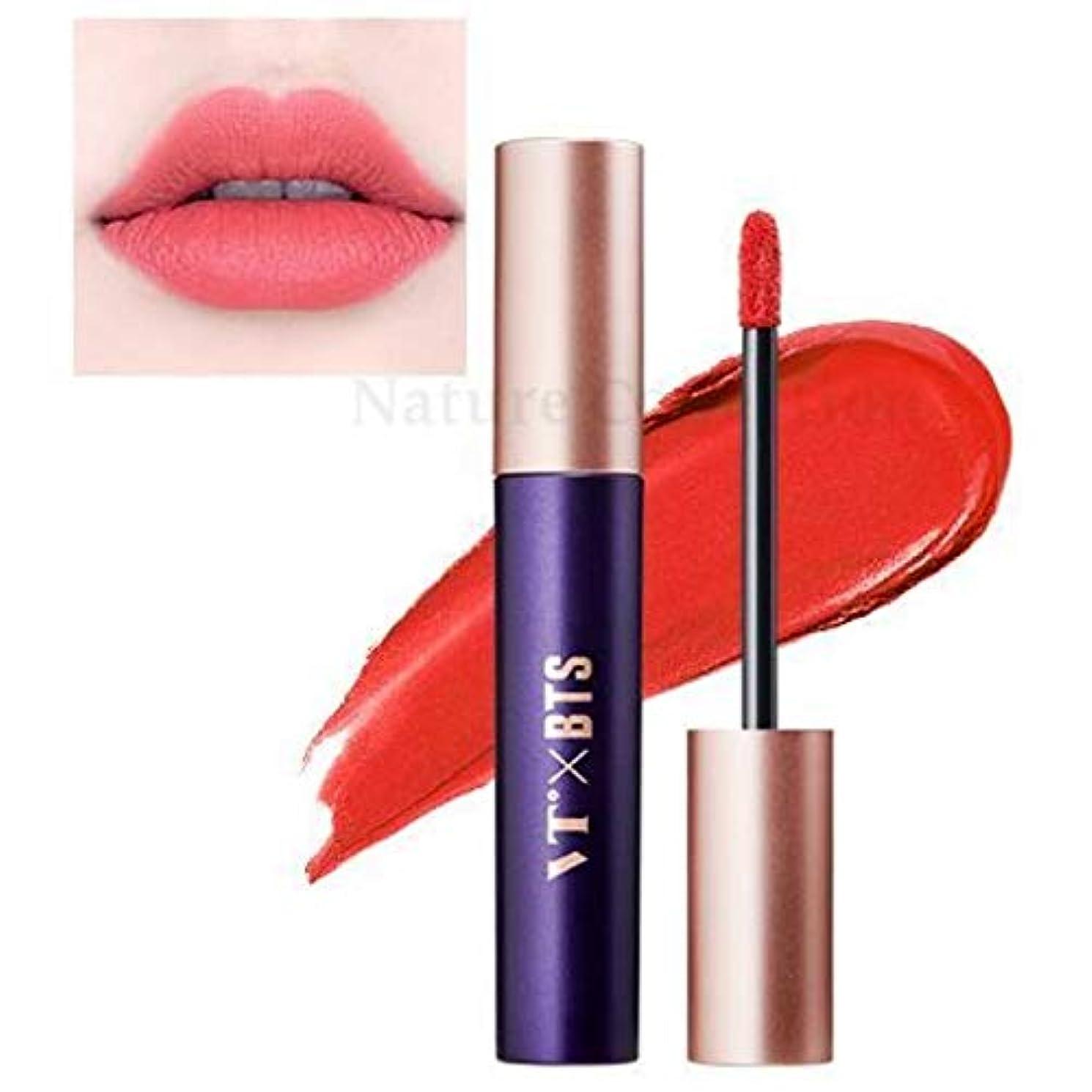 オーバーフローピービッシュごちそうVT X BTS Super Tempting Lip Rouge / スーパーテンプティング リップルージュ (4ml) / BTS コラボ (05.Brick up) [並行輸入品]