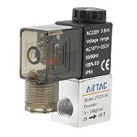 "AC 220V 3.5VA 4 ""PTスレッド2ポジション2ウェイ空気圧電動ソレノイドバルブ"