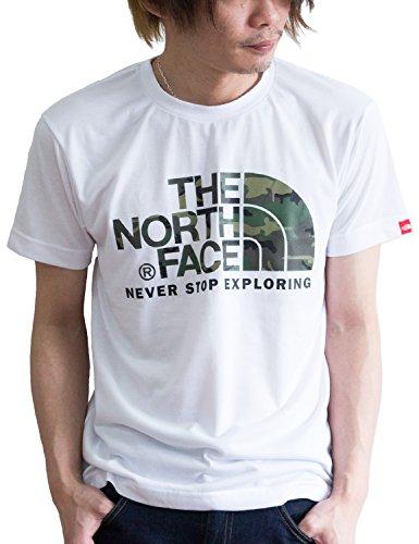 ノースフェイスロゴTシャツ