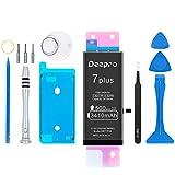 Deepro iPhone7 Plus バッテリー 交換用キット - 大容量 3410mAh 3.82V PSE認証済 2年保証 説明書 工具付