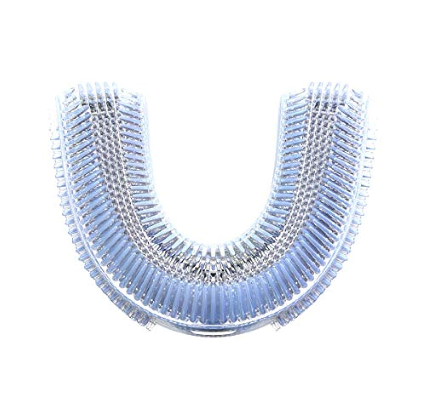 GideaTech 四代目ブラシヘッド 日本製 口腔洗浄器 電動歯ブラシ 音波振動歯ブラシ用 U型ブラシヘッド