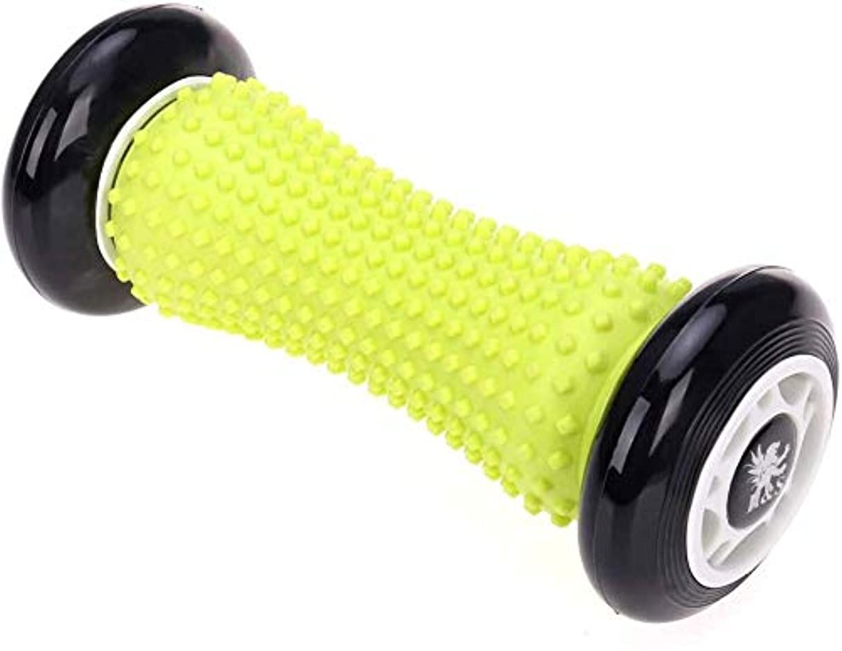 鈍いスパークカップ足のマッサージローラー、足の筋膜炎のための筋肉ローラーの棒の手首および前腕の運動ローラーのマッサージャー,Aaa