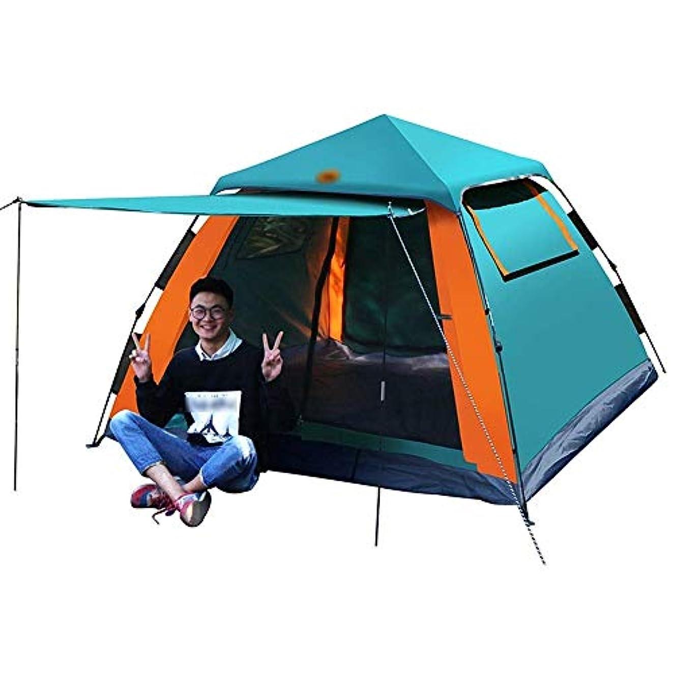 乞食統治する偽造LJMYP キャンプ用テントバックパック用テントキャンプ用ギアテントキャンプ用テントキャンプ用テント用屋外キャノピーガゼボ、自動スピードオープンテント防風性と防雨性スピードオープンテントで簡単セットアップ