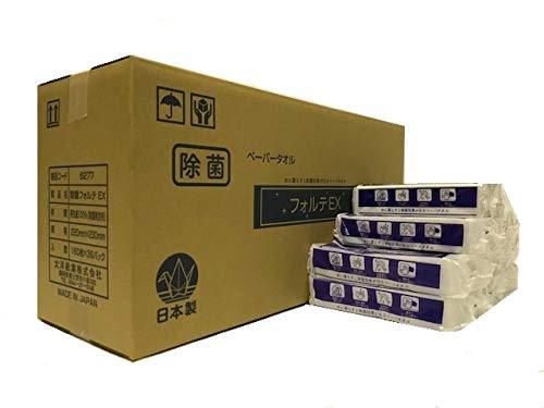 ペーパータオル ドライ除菌ペーパータオル フォルテEX 1個 160枚