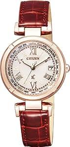 [シチズン]CITIZEN 腕時計 xC クロスシー  Eco-Drive エコ・ドライブ電波時計 TITANIA LINE HAPPY FLIGHTシリーズ EC1112-06A レディース