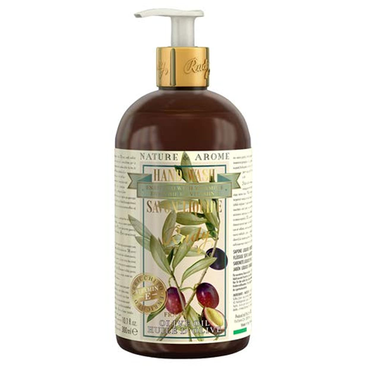 倍増何故なの促進するRUDY Nature&Arome Apothecary ネイチャーアロマ アポセカリー Hand Wash ハンドウォッシュ(ボディソープ) Olive Oil オリーブオイル