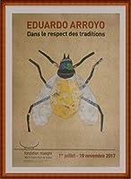 ポスター エドゥアルド アロヨ Dans Le Respect Des Traditions 額装品 ウッドハイグレードフレーム(ナチュラル)